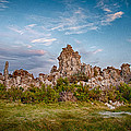Tufa And Clouds by Cat Connor