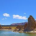 Tufa Rock At Mono Lake by Viktor Savchenko