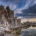 Tufas And Clouds by Greg Nyquist