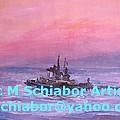 Tug At Sunrise by Eric  Schiabor