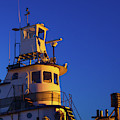 Tug Boat At Dawn, Cape Ann, Gloucester by Panoramic Images