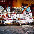 Tug Boat  by Mechala Matthews