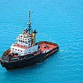 Tugboat At The Ready by Gordon Cain