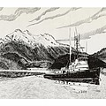 Skagit Chief Tugboat by Jack Pumphrey