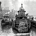 Tugboat Winter  1946 by Daniel Hagerman