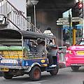 Tuk Tuk - City Life - Bangkok Thailand - 01131 by DC Photographer
