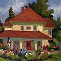 Tukwilla Farm House by Diane McClary