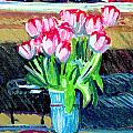 Tulips And Valentines by Candace Lovely
