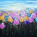Tulips At Sunrise by Kume Bryant