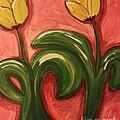 Dancing Tulips by Debra Acevedo