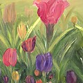 Tulips by Donna Blackhall