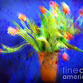 Tulips In The Blue by Edmund Nagele