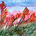 Tulips In The Wind by Jodi Forster