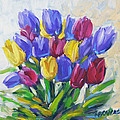 Tulips Time Love The Spring By Prankearts by Richard T Pranke