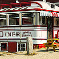 Tumble Inn Diner Claremont NH by Edward Fielding