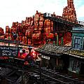 Tumbleweed Town Magic Kingdom by David Lee Thompson