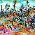 Quebec Taiga Landscape by Ion vincent DAnu