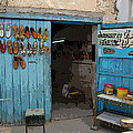 Tunesian Shoemaker Shop by Donna Lee Young