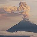Tungurahua Volcano Erupting by Pete Oxford