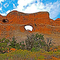 Tunnel Arch On Devils Garden Trail In Arches National Park-utah In Arches National Park-utah by Ruth Hager
