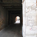 Tunnel In Venice by Richard Booth