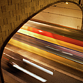 Tunnel Light Trails by Artur Bogacki