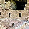 Tunnel Opening In Kiva Of Spruce Tree House On Chapin Mesa In Mesa Verde National Park-colorado  by Ruth Hager