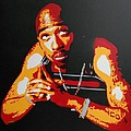 Tupac Pray For A Brighter Day by Leon Keay