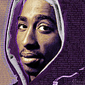 Tupac Shakur And Lyrics by Tony Rubino
