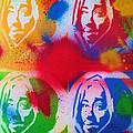 Tupac V Warhol by Leon Keay