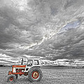 Turbo Tractor Superman Country Evening Skies by James BO  Insogna