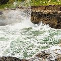 Turbulent Devils Churn - Oregon Coast by Gary Whitton