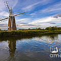 Turf Fen Drainage Mill by Louise Heusinkveld
