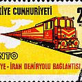 Turkey Iran Railroad by Jim Pruitt