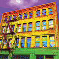 Turn Left At The Brick Building That Looks Like A Bad Acid Trip by James Kramer