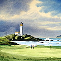 Turnberry Golf Course Scotland 10th Green by Bill Holkham