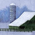 Turner Barn In Brentwood by Janet King