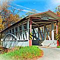 Turner's Covered Bridge Vignette by Steve Harrington