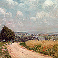 Turning Road by Alfred Sisley