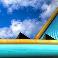 Turquoise And Gold by Paul Wear