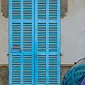 Turquoise Door by Ingela Christina Rahm