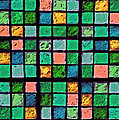 Turquoise Sudoku by Karen Adams