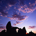 Turret Arch Silhouette  by Ray Mathis