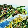 Turtle Love by Frances Ku