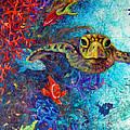 Turtle Wall 2 by Ashley Kujan