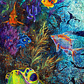 Turtle Wall 3 by Ashley Kujan