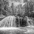 Turtletown Creek In Black And White by Debra and Dave Vanderlaan
