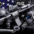 Tuscaloosa Police by Gary Yost