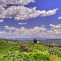 Tuscan Church On The Hill 2 by Matt Swinden