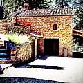 Tuscan Farmhouse by Evan Sarzin